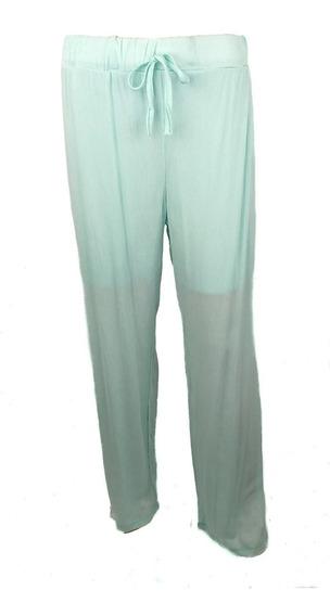 Pantalón Tipo Manta Verde Pastel Marca Yutlanih