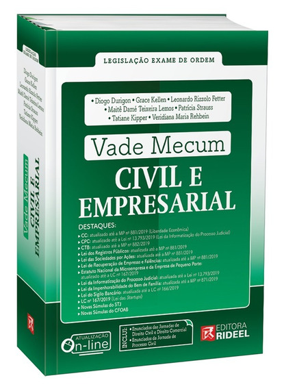 Vade Mecum Civil E Empresarial - 2019 - Durigon
