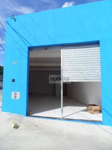 Salão Comercial Para Locação, São Mateus, São Paulo. - Sl0407