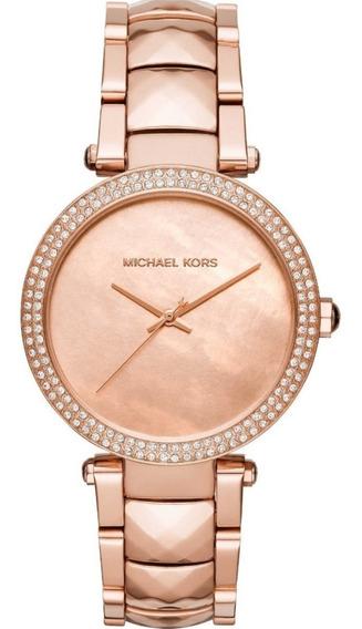 Relógio Pulso Feminino Michael Kors Aço Ouro Rose Mk6426