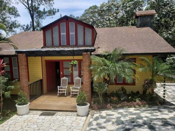 Casa De Campo En Venta En Buena Vista- La Vega Amoblada 3hab