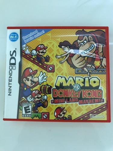 Juego Nintendo Ds Mario Vs Donkey Kong Miniland Mayhem