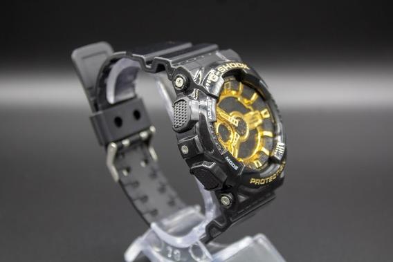Relógio + Caixa De Aluminio
