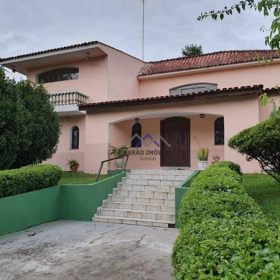 Chácara Com 3 Dormitórios À Venda, 4200 M² Por R$ 1.200.000,00 - Jardim Caxambu - Jundiaí/sp - Ch0049