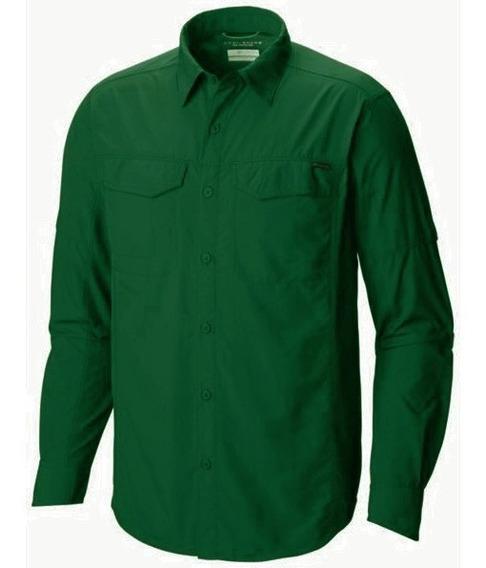 Camisa Columbia Silver Ridge M/ Largas Hombre Upf 50