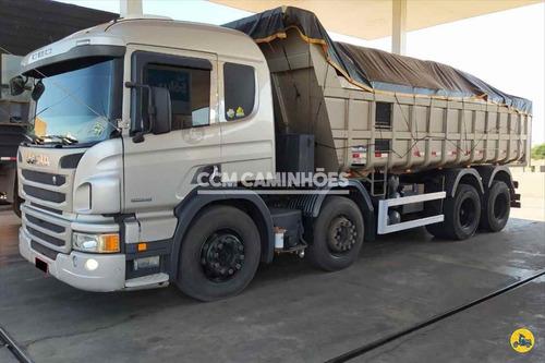 Imagem 1 de 14 de Scania P310 2015 8x2 Caçamba - Baixo Km