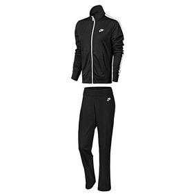 Conjunto Nike Nsw Trk Suit 830345-010 Negro-blanco Dama Pv