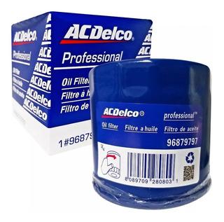 Filtro Aceite Chevrolet Aveo Gm Acdelco 2005-2010