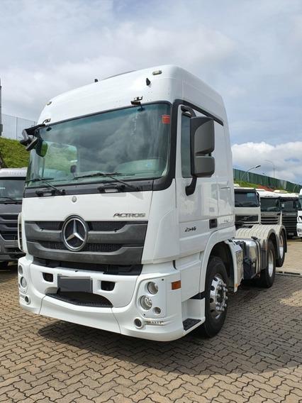 Mercedes Benz Actros 2546 6x2 Ano 2016 / Financiamos