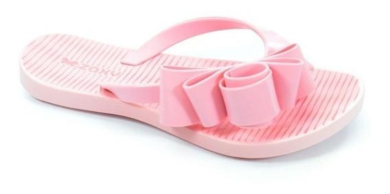 Chinelo Infantil Zaxy Fresh Glam Rosa Claro - 17326