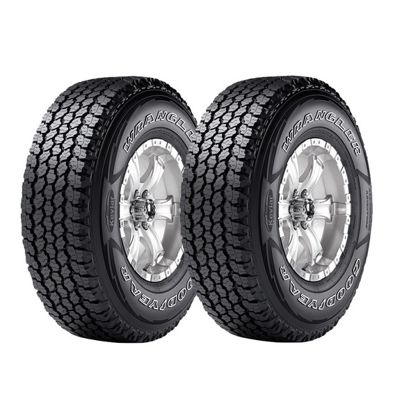 Kit 2 Neumaticos Goodyear Wrangler At 255/70 R16 Cuotas