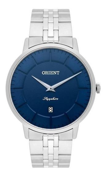 Relógio Orient Masculino Ref: Mbsss009 D1sx Slim Prateado