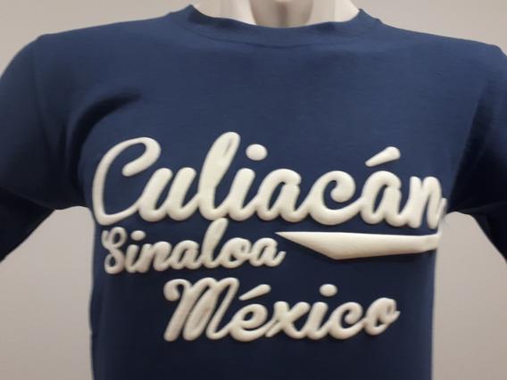 2 Playeras Puro Sinaloa Compa Culiacán Beisbolera Azuldelfin