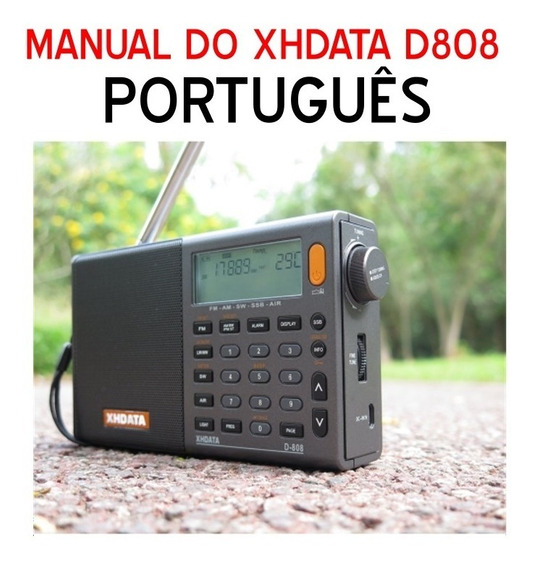 Manual Em Português Do Rádio Xh Data D808 (pdf)