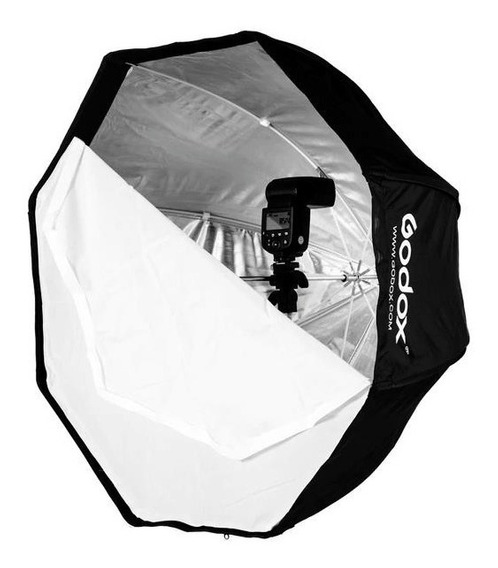Softbox Godox 95cm Octabox Sombrinha Guarda Chuva