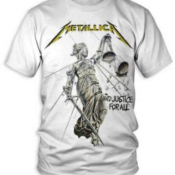 Camiseta Metallica - And Justice For All.