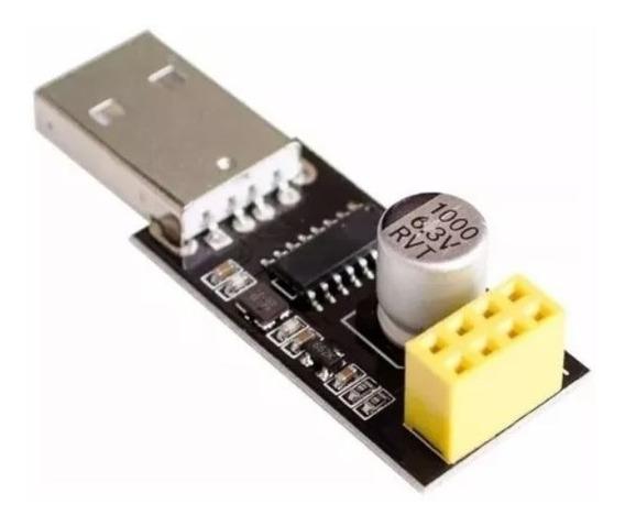 Módulo Conversor Usb Serial Para Esp01 Esp 01 Wifi Esp8266 Adaptador Ch340