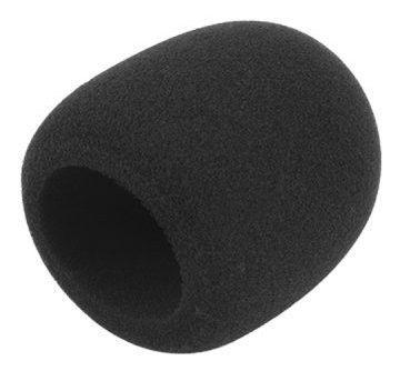 Espuma Protetora Para Microfone Grande