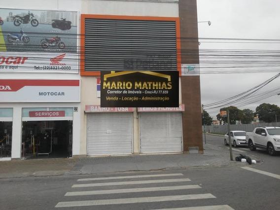 Sala Comercial Para Locação Em Rio Das Ostras, Jardim Mariléia - _1-1501713