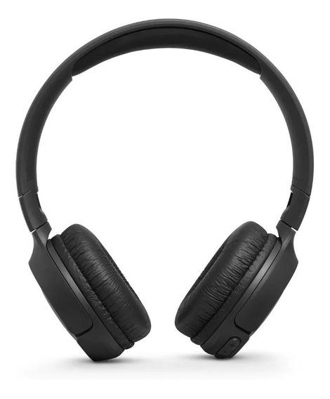 Fone De Ouvido Sem Fio Jbl T500bt Preto Bluetooth T 500 Ear