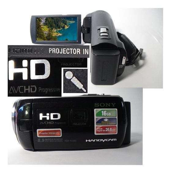 Filmadora Sony Hdr-pj380 Full Hd Entrada Microfone