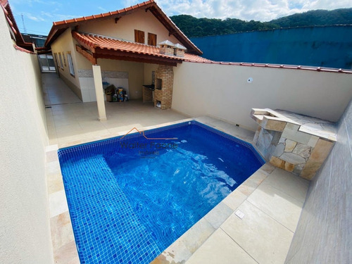 Imagem 1 de 16 de Casa A Venda No Bairro Pedreira Em Mongaguá - Sp.  - Wcc371-1