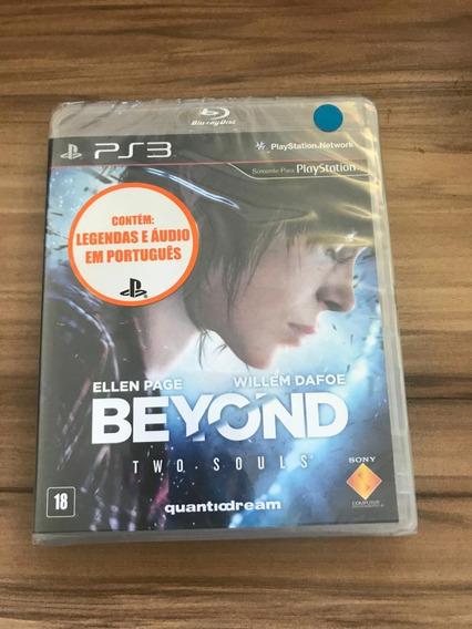 Jogo Beyond Two Souls Novo Lacrado Ps3