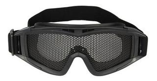 Óculos De Proteção P/ Airsoft C/tela Metálica Chaco Nautika