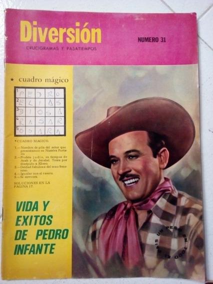 Pedro Infante En Revista Diversion Y Pasatiempos Abril 1968