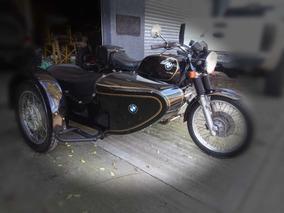 Moto Bmw R60/7 Con Sidecar