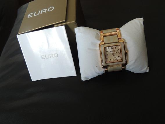 Relógio Femenino De Pulso Euro