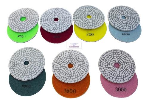 7 Lixas Diamantadas Mármores Granitos Vidro Concreto Pisos