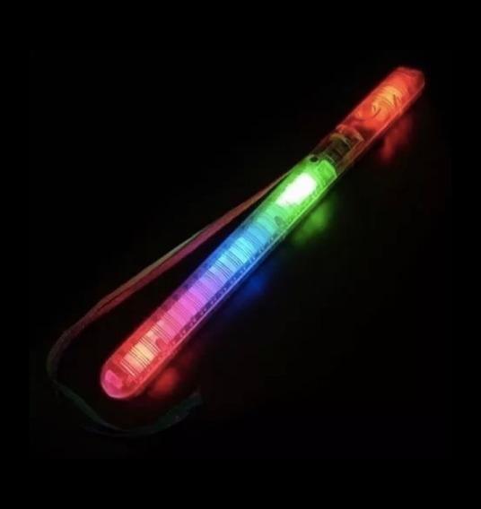 Varita Led Colgante 20cm 7 Secuencias Luminosas Cotillon X1$