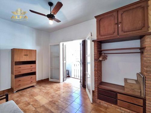 Imagem 1 de 13 de Apartamento A 2 Quadras De Distância Da Praia Das Astúrias Ou Tombo À Venda, 1 Dormitório, 1 Vaga, 50m De Área Útil, Guarujá. - Ap1092