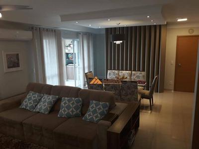 Apartamento Com 3 Dormitórios À Venda, 123 M² Por R$ 720.000 - Jardim São Luiz - Ribeirão Preto/sp - Ap3677