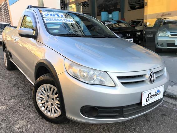 Volkswagen Saveiro 1.6 8v Flex Completa 2011 - Prata