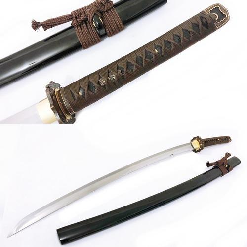 Imagem 1 de 10 de Katana Militar Gunto Segunda Guerra Samurai T10 Afiada