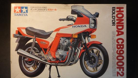 Llm - Moto - Honda Cb900 F2 Bold´or Tamiya 14007 - 1/12