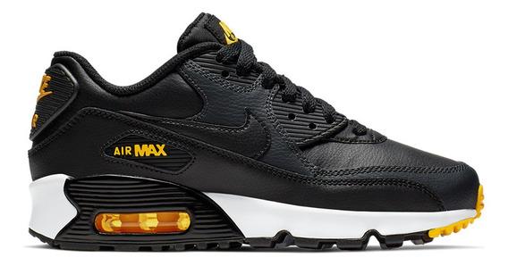 Zapatillas Nike Air Max 90 Leather Niño- 6990 - Moov