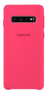 Funda Silicone Cover Samsung A50 A30 A10 S8 S9 S10 Plus