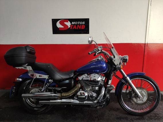 Honda Shadow 750 Abs 2013 Azul