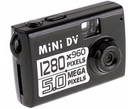 Mini Camera Espia Detecção Movimento 5 Mp