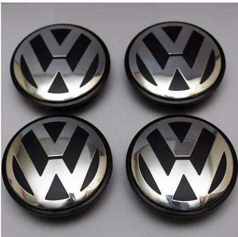 Calota Centro Roda Volkswagen Jetta Tsi Golf Mk7 65mm 4pcs