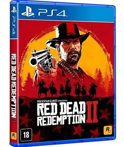 Red Dead Redemption 2 Ps4 - Midia Fisica