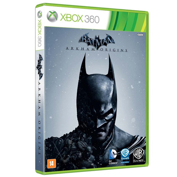 Batman Arkham Origins Xbox 360 Midia Fisica - Seminovo