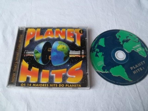 * Cd - Planet Hits - Rock Pop Internacional