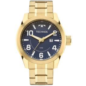 Relógio Technos Masculino Dourado Perfomance Racer 2115mgq4a