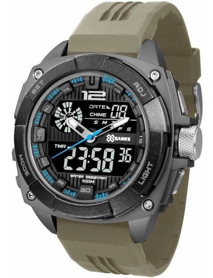 Relógio Masculino Xgames Anadigi Xmppa260 Pxfx