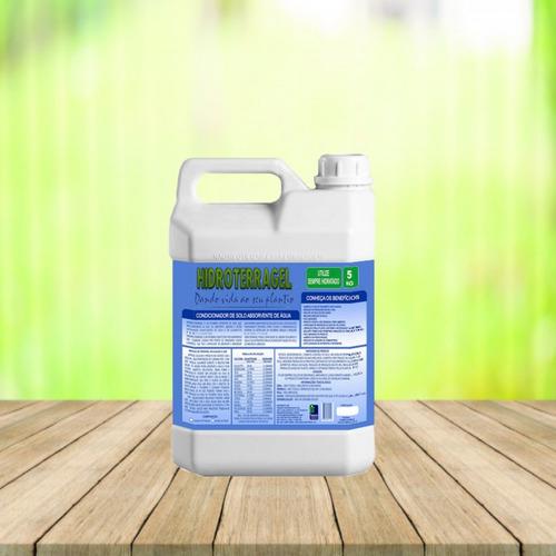 Imagem 1 de 3 de Gel Para Plantio - Mantém A Hidratação Radicular (5 Kg)