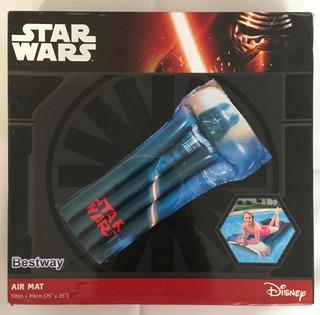 Cama Inflable Para Alberca Star Wars Bestway Air Mat Vader